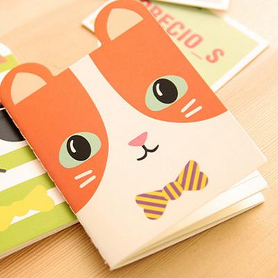 可爱小动物造型笔记本